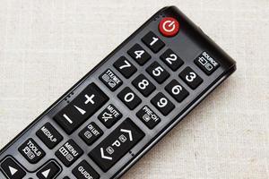 knappar på fjärrkontroll för TV foto