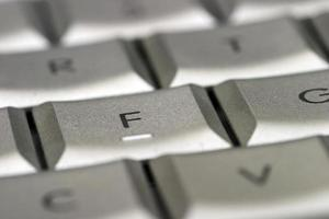 tangentbord på nära håll foto