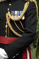 engelska officer foto