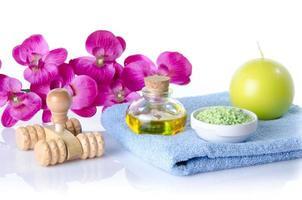 spa- och massagekoncept foto