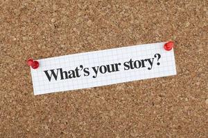 vad är din berättelse foto