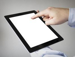 mock-up-tablett foto