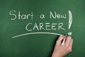 starta en ny karriär