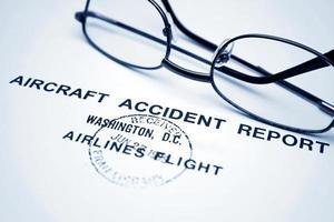 rapporter om flygolyckor foto