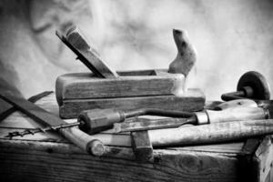 gamla verktyg foto