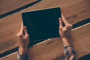 lever i digital tid. foto