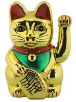 asiatisk katt lycklig figur foto