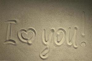 jag älskar dig foto