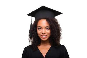 koncept för studentens examensdag foto
