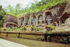 gunung kawi tempel på bali foto
