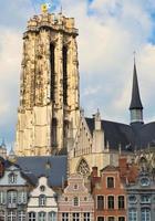 domkyrka i mechelen belgien foto
