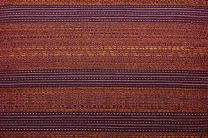 färgrik afrikansk peruansk stilmatta på nära håll