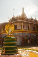 hpaung daw u pagoda i Inlesjön, Myanmar.