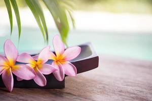 spa och wellness bakgrund foto