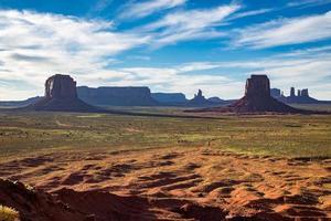 Monument Valley Navajo stampark, Utah, USA foto