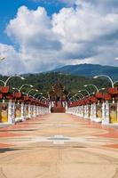 lanna stil i Chiang Mai foto