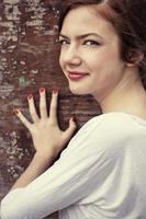 vacker flicka tonåring foto