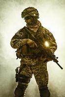luftburet infanteri foto
