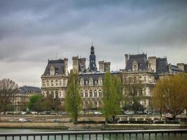 paris stadshus, hotel de ville foto