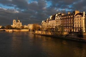 cathedrale notre-dame, paris, france foto