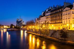 katedralen Notre-Dame, Paris, Frankrike foto