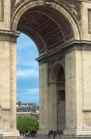 arc de triomphe - paris foto