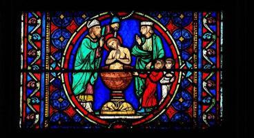 dop av Kristus foto