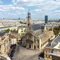 paris landmärke foto