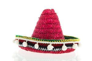 röd sombrero foto