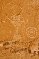 petroglyph, Escalante River Canyon, Utah foto