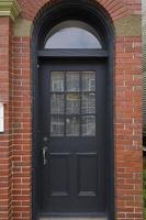 dörrar till lunenburg ns, Kanada foto