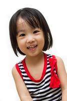glada asiatiska kinesiska barn foto