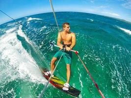 extrem sport, kiteboarding foto