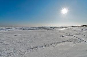 naturen på ön sakhalin, Ryssland. foto
