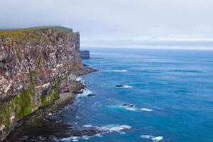 latrabjarg udde, vestfirdir, Island, kanten av världen foto