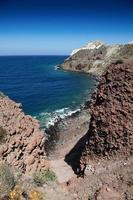 thira fira perissa oia ammoudi therassia greece island cyclades foto