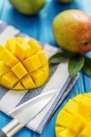 organisk mango foto