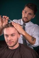 professionell frisörsalong foto