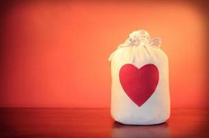 väska med lycka foto