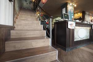 restaurang café interiör foto