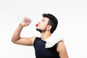 sportman dricksvatten foto