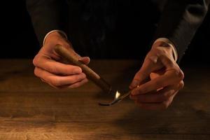 konsten att cigarrer foto