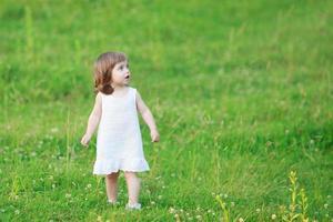 liten flicka foto