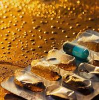 blå piller foto