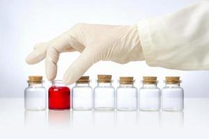 medicinska flaskor foto