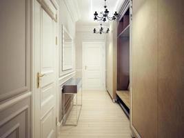 modern korridor stil foto