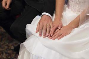 bröllopsringar foto