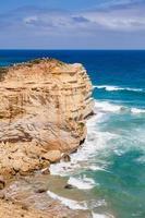 12 apostlar på stor havsväg i Australien foto