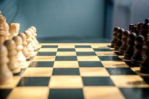 trä schack foto