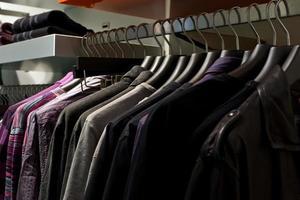 kläd butik foto